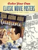 Coloring Book for Seniors - Classic Movie Posters