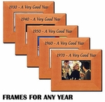 Picture Frames for Year Born