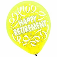 Retirement Party Balloons