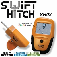 Swift Hitch Deluxe Portable Hand Held Wireless Color Screen Back Up Camera SHO2