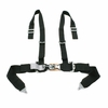 "Tiger 4 Pt ""H"" Harness Seat Belts Sewn In 2x3 Black"