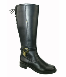 David Tate Women's Alana Extra/Super Women's Wide Calf� Boot (Black) - FINAL SALE