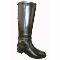 David Tate Women's Alana Extra/Super Women's Wide Calf� Boot (Brown) - FINAL SALE