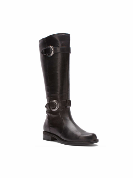 David Tate Women's Brandi Extra/Super Wide Calf™ Boot (Black) - FINAL SALE