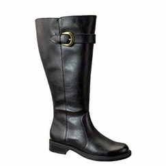 David Tate Women's Harper Extra/Super Wide Calf�  Boot (Black) - FINAL SALE