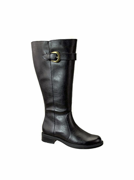 David Tate Women's Harper Extra/Super Wide Calf™ Boot (Black ...