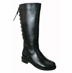 David Tate Women's Layla Women's Super/Super Plus Wide Calf�  Boot (Black)