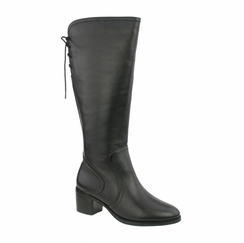 David Tate Women's Snug Boot - Extra Wide/Super Wide Calf™ (Black) - Final Sale