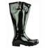 Lily Women's Super Wide Calf� Rain Boot (Black) - Final Sale