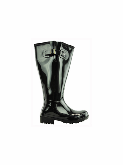 Lily Women's Super Wide Calf™ Rain Boot (Black) - Final Sale
