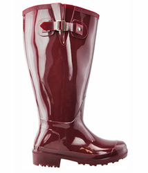Lily Women's Super Wide Calf� Rain Boot (Red)