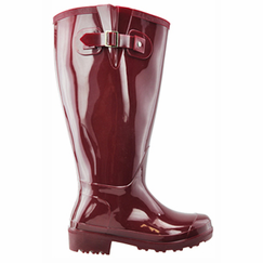 Lily Women's Super Wide Calf� Rain Boot (Red) - Final Sale