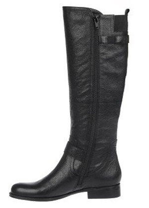 Naturalizer Women's Jersey Wide Calf Riding Boot (Black) - FINAL ...