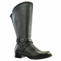 Riley Women's Super/Super Plus Wide Calf�  Leather Boot ON SALE!  (Black) - FINAL SALE