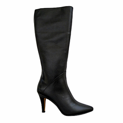 Ros Hommerson Women's Maryland Super Wide Calf™ Boot (Black Leather) - FINAL SALE