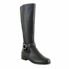 Ros Hommerson Women's Skylar Extra Wide Calf Boot (Black) - Final Sale