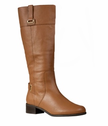 Rose Petals Julia Super Plus Wide Calf&reg Boot (Tan)
