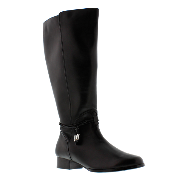 Rose Petals Women's Sadie Super Plus Wide Calf® Boot (Black ...