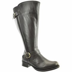 Tori Women's Super/Super Plus Wide Calf�   Leather Riding Boot ON SALE!  (Brown) - FINAL SALE