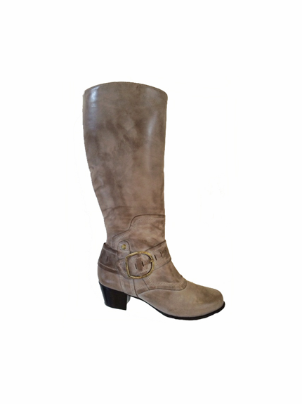 Walking Cradles®  Aryn Extra Wide Calf Boot (Sage) - FINAL SALE