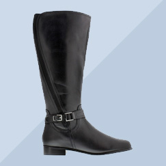 Wide Calf Casual Boots