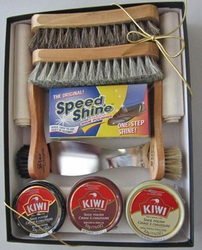 Gift Box Shoe Shine Kit