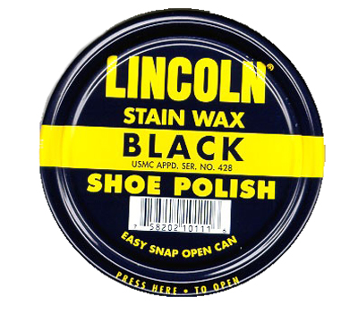 lincoln stain wax shoe polish for a brillant shine. Black Bedroom Furniture Sets. Home Design Ideas