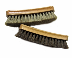 "Shoe Shine Brush 6"" Ralyn 100% Horsehair"