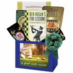 Golf Gift For Men with A Good Walk Ruined Book Plus Snacks