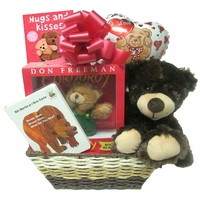 "A ""Beary"" Special Delivery Gift Basket"