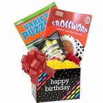 Birthday Gift for Men and Women with Puzzle Books
