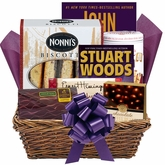 Up All Night Readers Gift Basket