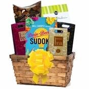 Comforting Teas and Book Gift Basket