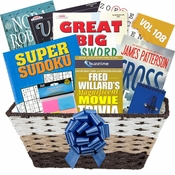 Bookworm Gift Basket for Her
