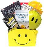 Cheerful Gift Basket for Men or Women