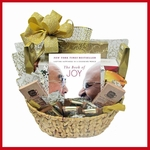 Chocolate Lover's Gift Basket with Book