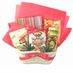 Christmas Basket for Readers