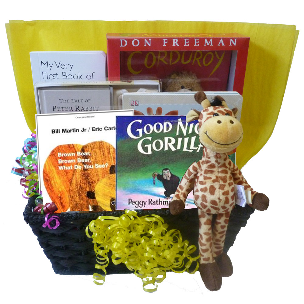 Baby Gift Baskets With Books : Classic baby books gift basket