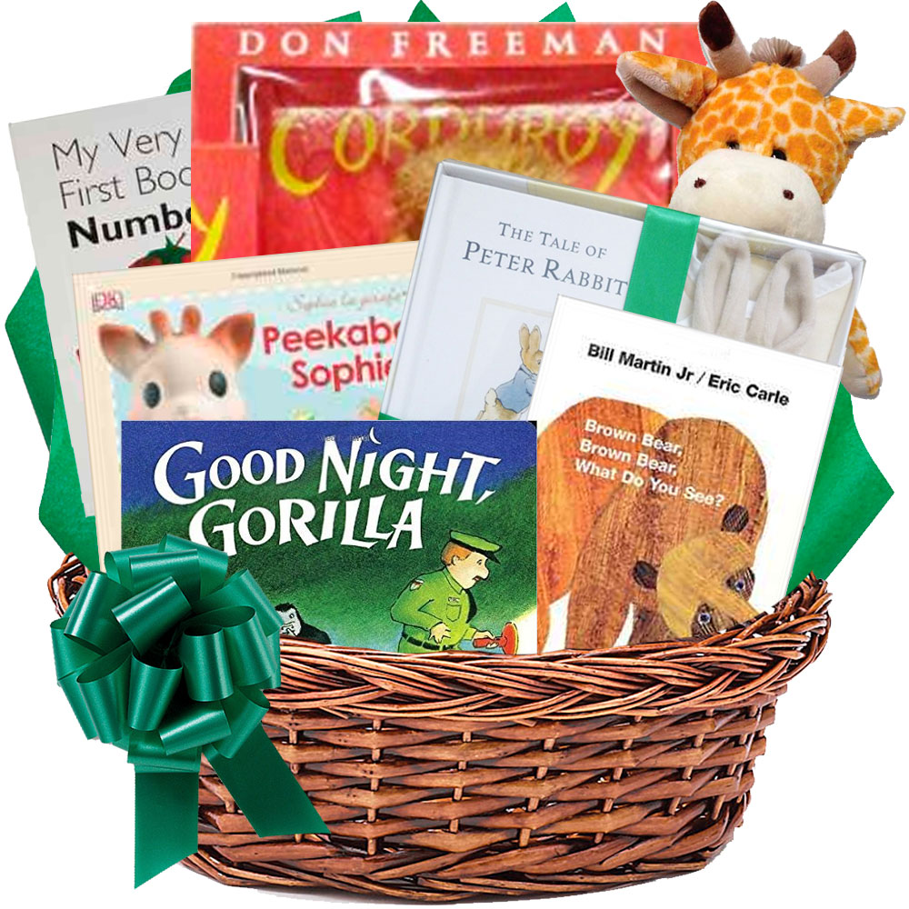 Baby Gift Baskets With Books : Classic baby books gift basket the perfect way to start