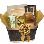 Coffee, Tea and Book Basket for the Holidays