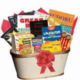 Puzzle book baskets for adults offer