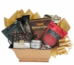 Deluxe Global Flavors Gourmet Coffee Gift Basket