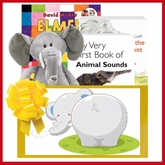 Elephants Everywhere Baby Gift Basket
