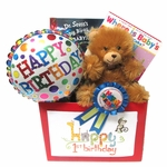 Baby's First Birthday Gift Basket
