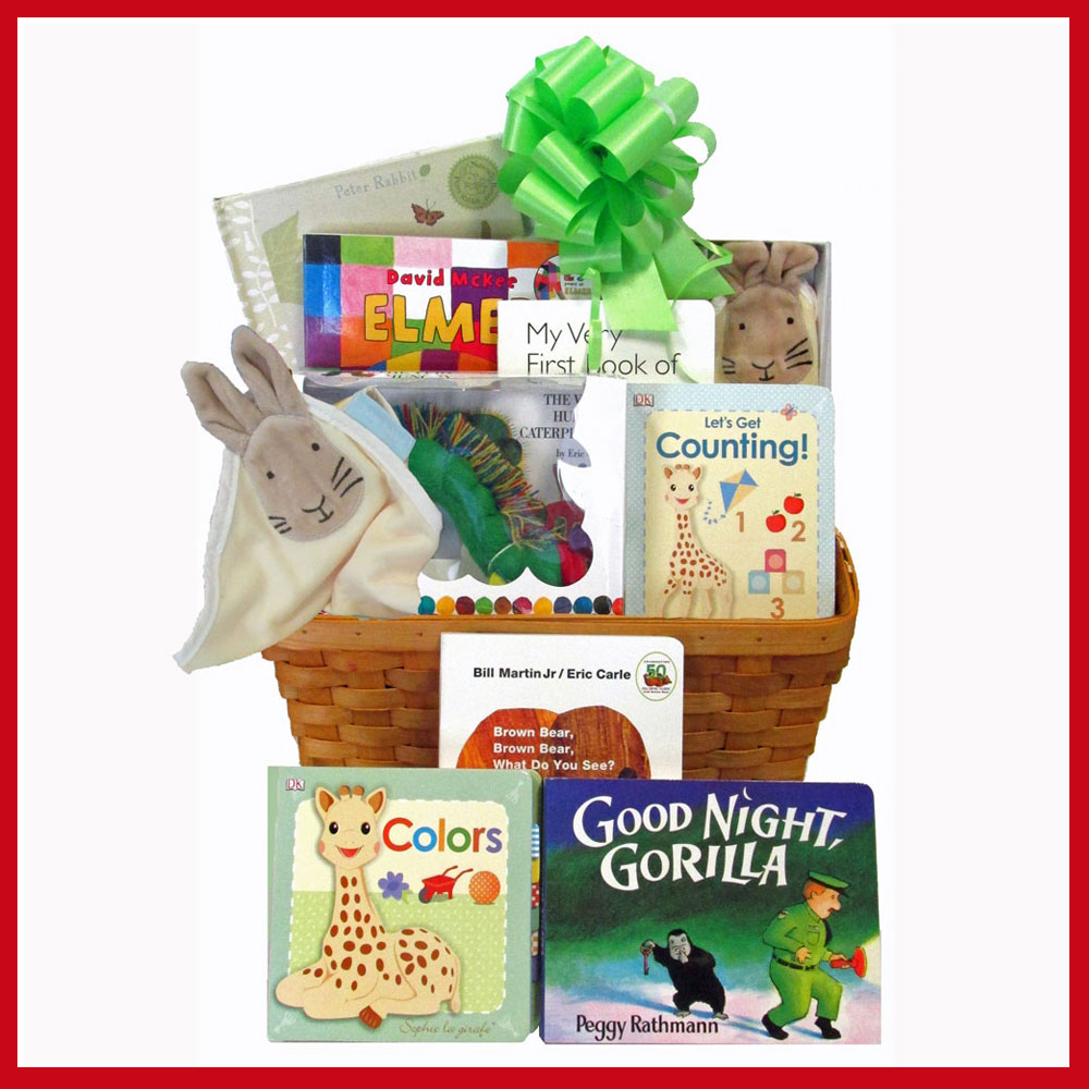Baby Gift Baskets With Books : Baby s first library gift basket collection of classic
