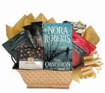 Gift Basket with Worldly Gourmet Coffees and Book