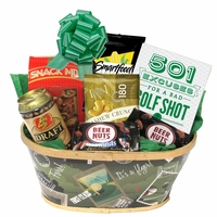 Golf Lover's Gift Basket