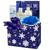Holiday Glow Bath and Book Gift Set
