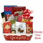 Holiday Wishes Book and Gourmet Gift