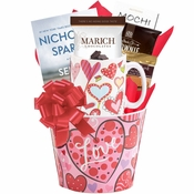 Endless Love Valentine Hearts Gift Basket